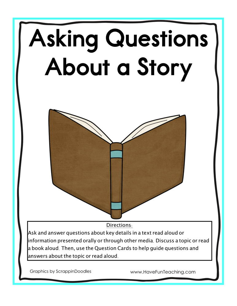 Asking Questions about a Story Activity