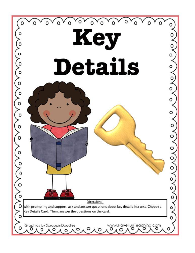 Key Details Activity