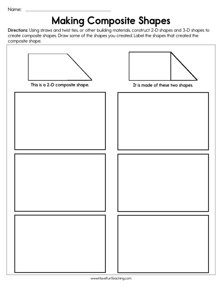Resources   Math   Shapes   Worksheets