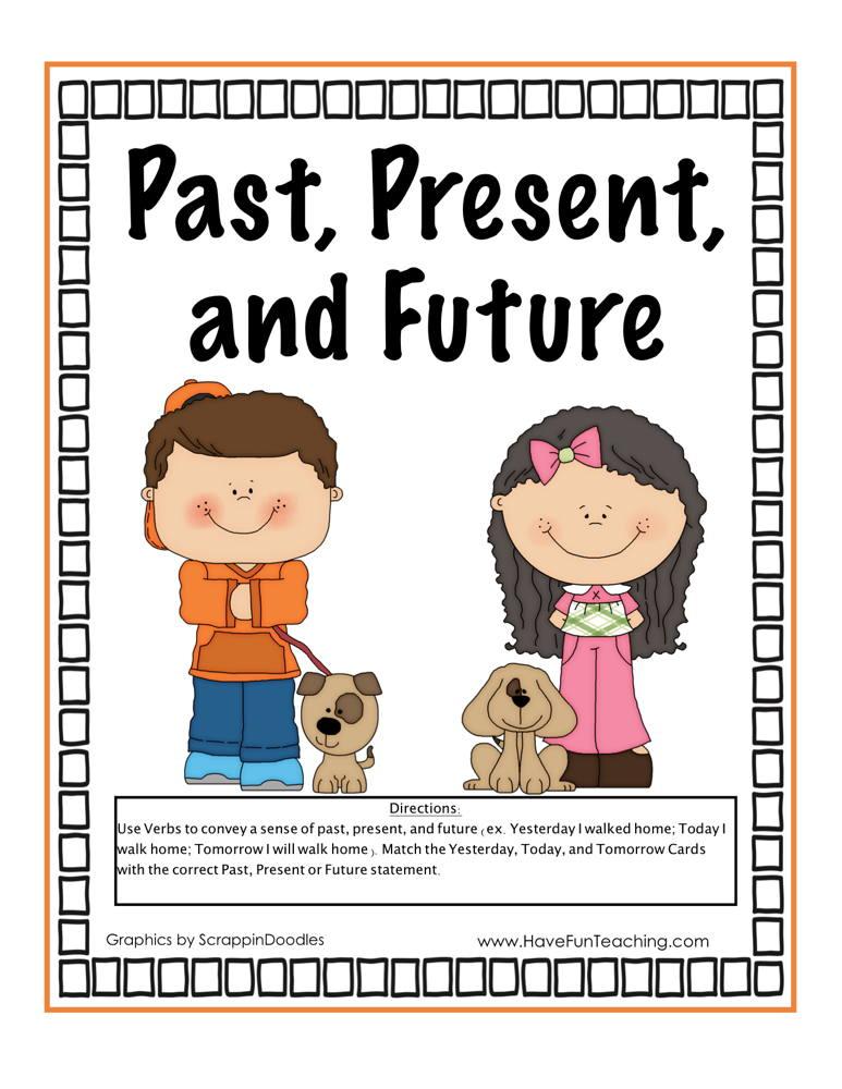 Past Present Future Tense Activity