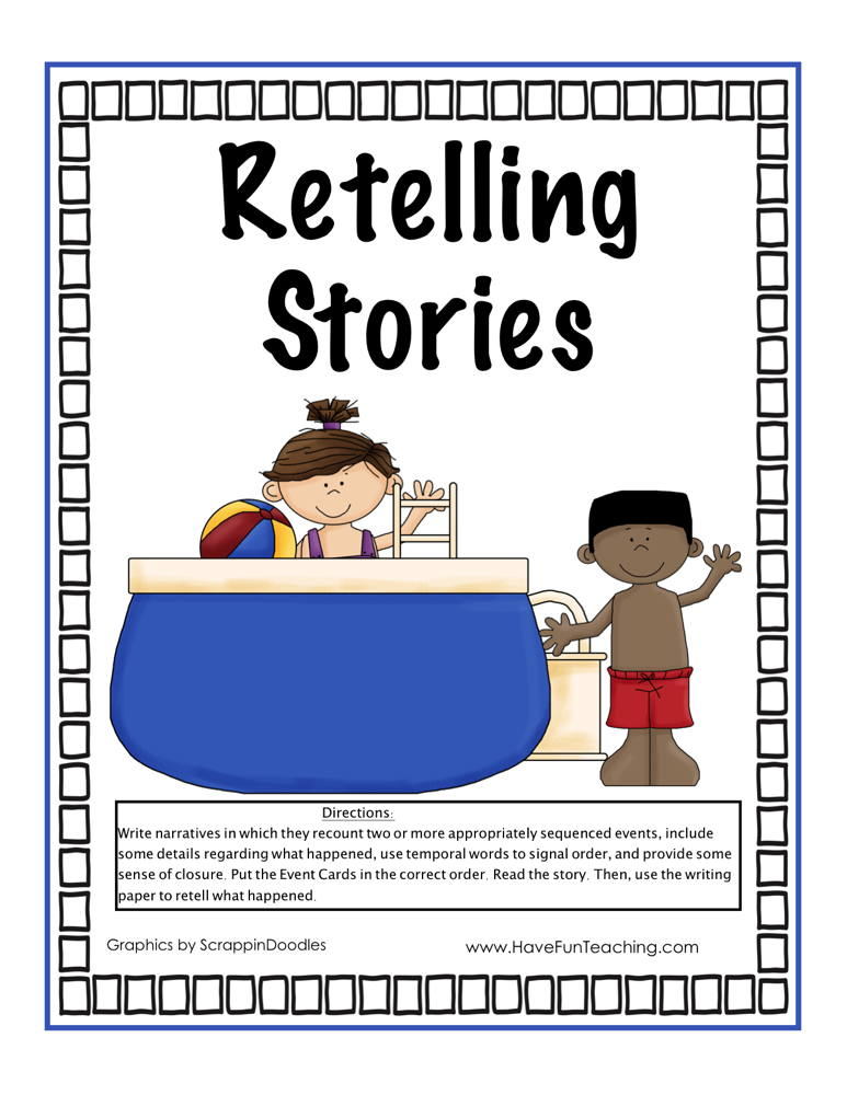 Retelling Stories Activity